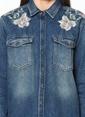 Mavi Jean Gömlek | Meg - Normal Kesim Lacivert